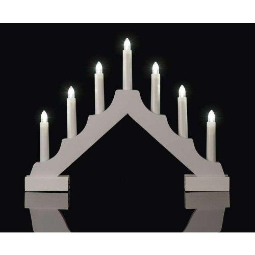 Vánoční svícen do okna
