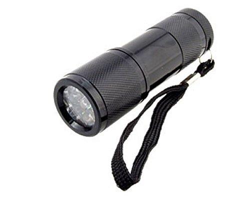 9 LED UV baterka