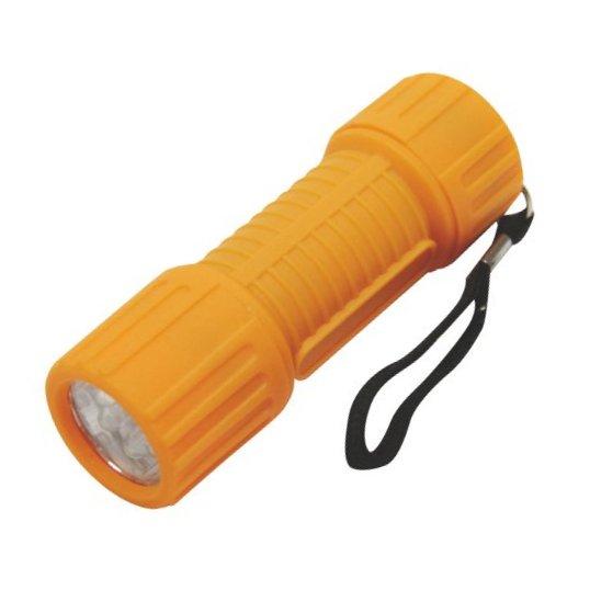 Fotografie 6 LED svítilna + baterie