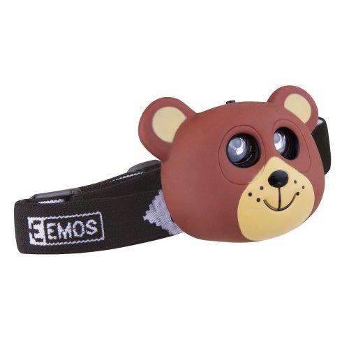 LED čelovka medvěd