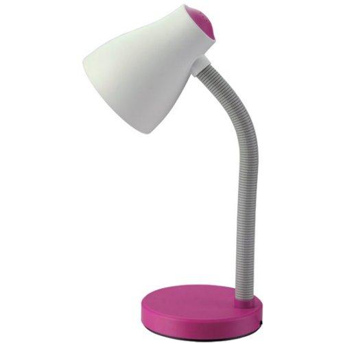 Stolní lampička růžová E27